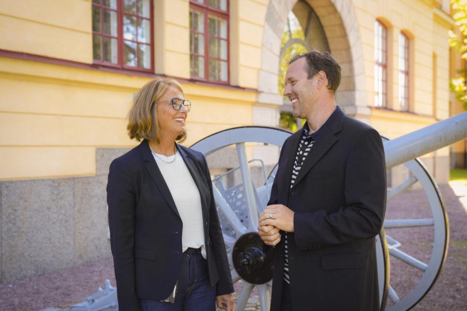 Anders Millerhovf, CTC, och Maria Englund, ClinSmart